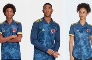 Este es el nuevo diseño de la camiseta de la Selección Colombia