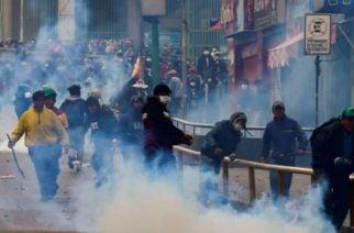 En Bolivia aumenta a 10 el número de muertos durante protestas