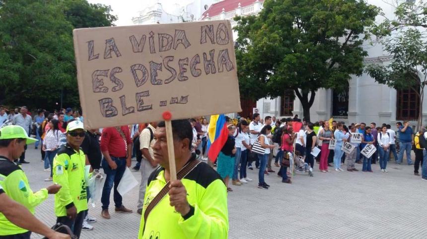 Trabajadores, estudiantes, gremios y sindicatos saldrán se unirán hoy al paro en Córdoba