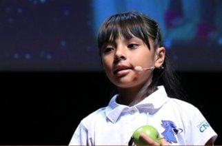 Adhara, la niña mexicana con un coeficiente intelectual superior al de Einstein