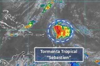 """Tormenta tropical """"Sebastián"""" podría convertirse en huracán en el Caribe"""