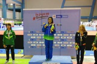 Córdoba se alzó con su primera medalla de oro en los Juegos Nacionales