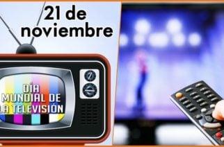 Hoy es el Día Mundial de la Televisión ¡Todos a consumir programas enriquecedores!