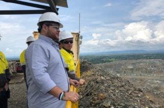 El Gobernador electo de Córdoba, Orlando Benítez, visitó hoy la operación de Cerro Matoso