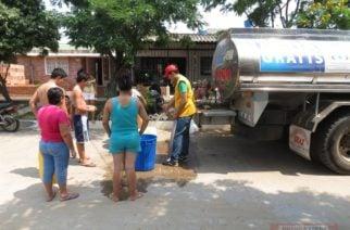 Gobernación envió carrotanques a municipios afectados por falla de planta en Cereté