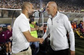 """""""Soñé con jugar con él cuando era jugador"""": Guardiola sobre Zidane"""