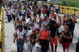 Cifra de venezolanos viviendo en Colombia asciende a 1.630.903