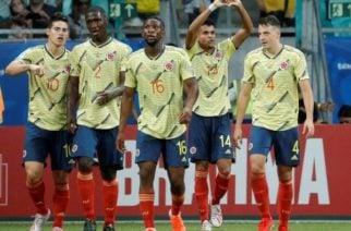 Selección Colombia cerró 2019 dentro del top 10 del ránking de la FIFA