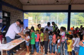 Gobernación realizó brigada de atención a población víctima de San José de Uré