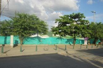 Ya se sabe dónde están las mallas del parque de Panzenú
