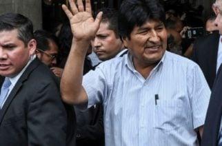 Evo Morales salió de Cuba y llegó a Argentina donde vivirá como refugiado político
