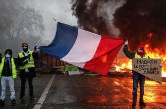 Francia entró hoy a su segundo día de protestas