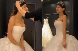 Noticia triste para los hombres: Mia Khalifa presumió el vestido con el que se casará en 2020