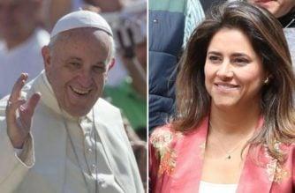 El Papa recibió a la primera dama María Juliana Ruiz en Roma