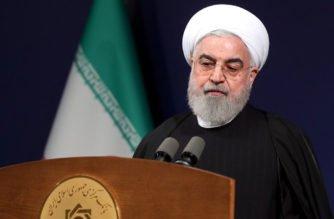 Presidente de Irán dice que quiere evitar guerra con Estados Unidos