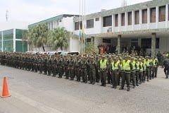 Coronel Wilson Montenegro asume oficialmente el mando de la Policía Metropolitana