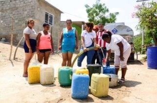 20 corregimientos con desabastecimiento de agua han sido atendidos: Ladys Noble Tordecilla