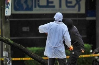Manifestaciones de este martes también se tornaron violentas en Cali: atacaron el Icetex
