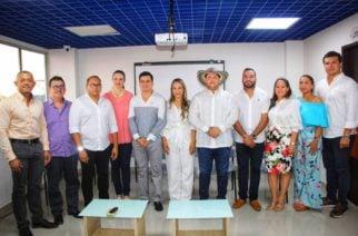 Gobernador Orlando Benítez presentó a miembros de su gabinete