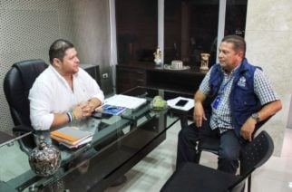 Gobernador Benítez se reunió con el Defensor del Pueblo  para analizar el orden público del Sur de Córdoba