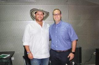 Gobernador Benítez posesionó a Camilo Berrocal como secretario del Interior y Participación Ciudadana