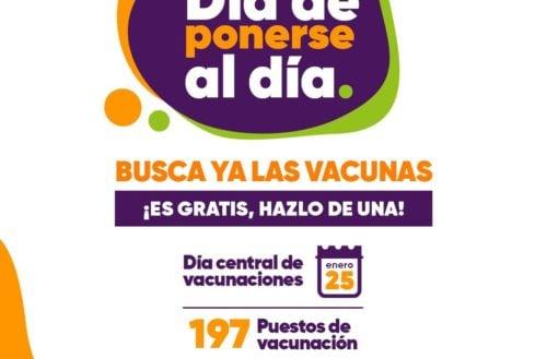 Entérate de las vacunas que estarán disponibles en la jornada del 25 de enero en toda Córdoba