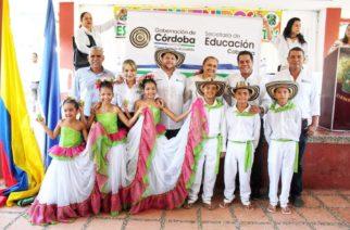 Gobernador Benítez oficializó el inicio del nuevo cronograma escolar desde Ciénaga de Oro