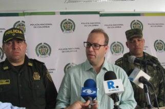 Decretan ley seca y tres días de duelo por atentado que dejó dos muertos en San José de Uré