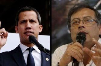 Por señalamientos en su contra, Petro denunciará a Juan Guaidó