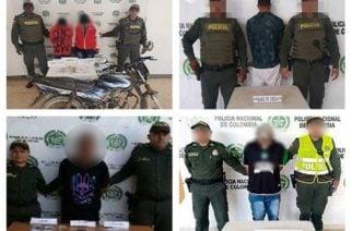 Cinco capturados en Sahagún, Planeta Rica y Tierralta por tráfico de estupefacientes