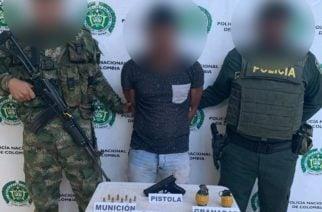 Capturado alias 'Pantera', presunto integrante del 'Clan del Golfo'