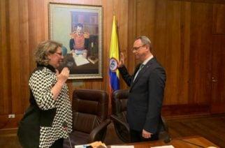 Álvaro Námen Vargas es el nuevo presidente del Consejo de Estado