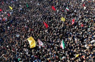 Más de 30 muertos y decenas de heridos dejó estampida durante el funeral de Soleimani