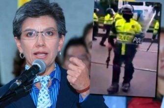 Investigan a policía que aparentemente insultó a la alcaldesa Claudia López