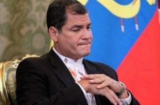 Ex presidente de Ecuador va a juicio por sobornos de Odebrecht