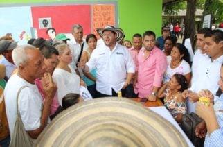 En Valencia el gobernador Benítez realizó el primer encuentro de paz y planeación territorial