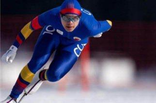 El patinador Diego Amaya ganó medalla de plata en Olímpicos de Invierno de la Juventud
