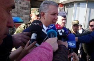 Duque responsabiliza al ELN por atentado en la Fuerza Aérea en Yopal