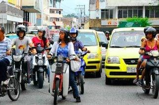 Pico y placa para motos empezará a regir en Cereté a partir del 21 de enero