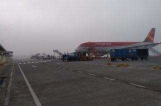 Aeropuerto Los Garzones suspendió vuelos