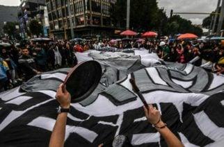 Desde tempranas horas iniciaron las protestas en Bogotá por el paro nacional