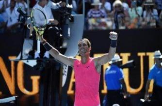 Rafael Nadal calificó para la segunda vuelta del Abierto de Australia