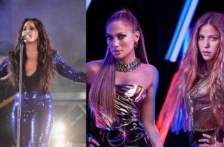 Demi Lovato se unirá a Shakira y J-Lo Super Bowl