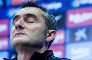 Valverde publicó una carta tras su despido como DT del Barcelona