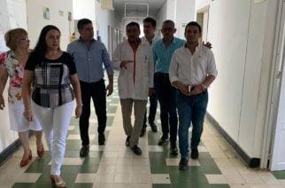 Secretario de Salud departamental visitó junto al alcalde el Hospital San Diego de Cereté
